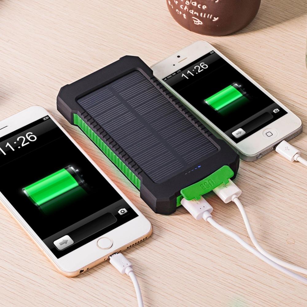 Portable solar powerbank
