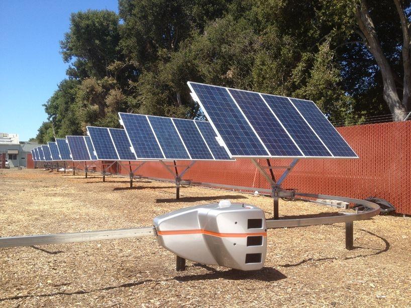 поворотное устройство для солнечной батареи
