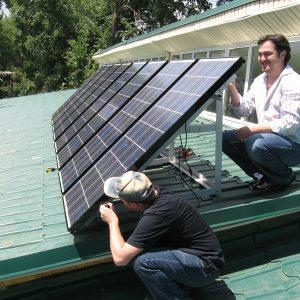 Сборка и подключение солнечной батареи